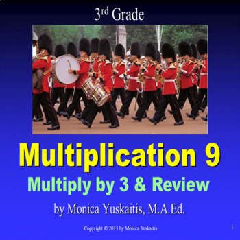 Common Core 3rd - Multiplication 9 - Multiply by 3 and Review