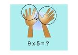 Multiplication 9's Trick