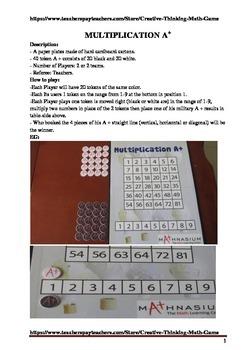 Multiplication A Plus