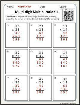 Multiplication Activities Bundle