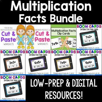 Multiplication Activities Bundle