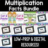 Multiplication Facts 0-12 Bundle