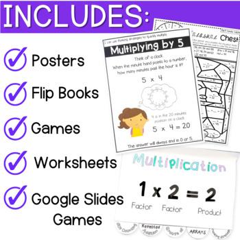 Multiplication Practice (Bundle)