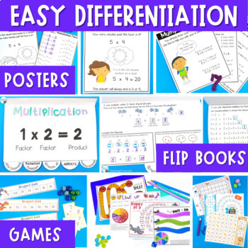 Multiplication Games and Activities Endless Bundle