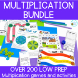 Multiplication Games and Activities Endless Bundle | Dista