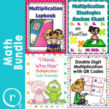 Multiplication Activities Games and Resources Bundle