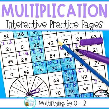 Multiplication Worksheets 0 1 Teaching Resources Teachers Pay Teachers