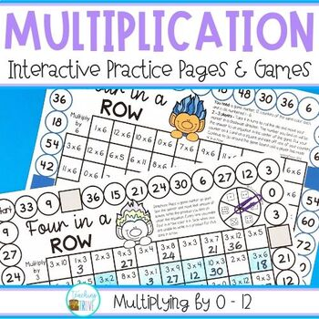 Multiplication Games | Distance Learning