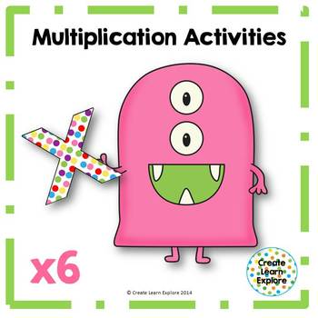 Multiplication Activities x6