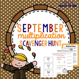 Word Problem Multiplication Scavenger Hunt