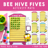 Multiplication Activity - Bee Play Doh Mats - Rows of 5