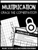 Multi-Digit Multiplication Activity: Crack the Combination