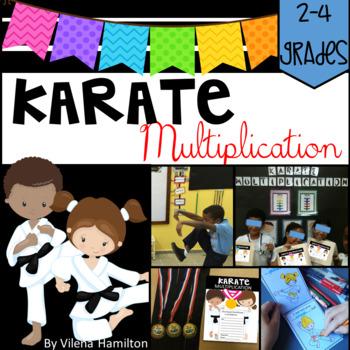 "Multiplication Activity Pack ""Karate Multiplication"""