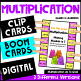 Multiplication Activity: Pick, Flip Check Cards for Multiplication Facts Fluency