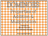 Multiplication & Addition Properties Dominoes