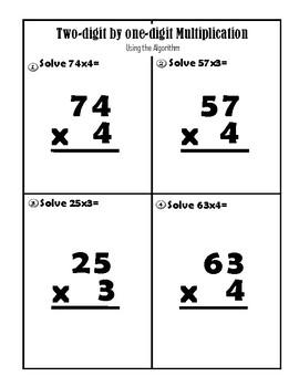 Multiplication Algorithm Center