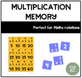 Multiplication 'Algorithm Memory' Game