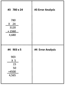 Multiplication Analysis:  What Went Wrong, Henry?