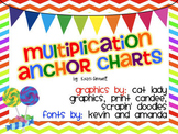 Multiplication Anchor Charts {FREEBIE}