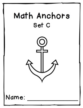 Multiplication Anchors Set C: 1 to 5 Multipliers