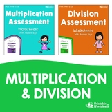 Multiplication And Division Assessment Worksheets