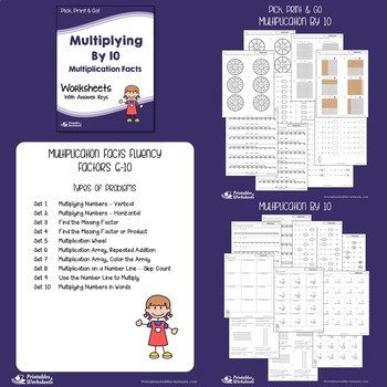 Multiplication And Division Facts Worksheets