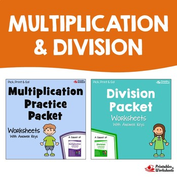 Multiplication And Division Packet