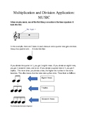 Multiplication Applications- Music