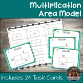 Multiplication Area Model Task Cards