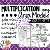 Multiplication Area Models CCSS 4.NBT.5