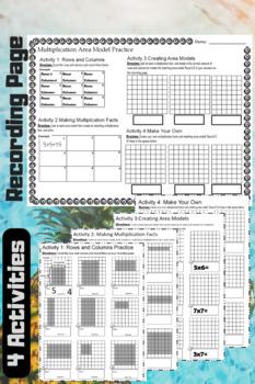 Multiplication Area Models Center