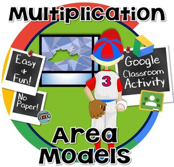 Multiplication Area Models (Window Pane Method) GOOGLE CLASSROOM