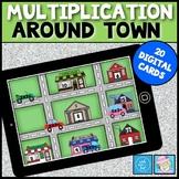Multiplication Games 3rd Grade BOOM CARDS MATH