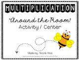 Multiplication Around the Room Activity/Center