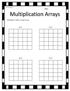 Multiplication Array