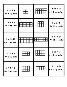 Multiplication Array Activity