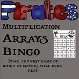 Multiplication Array Bingo Class Set ~ Math Center ~ 3rd Grade O&A Thinking