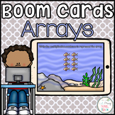 Multiplication Array Boom Cards