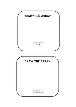 Multiplication Array Bundle