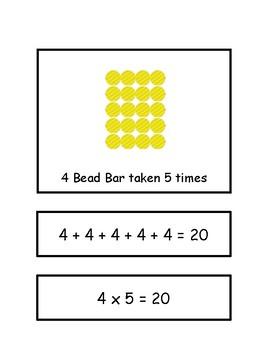 Multiplication Array Cards