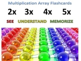 #BTS Preprinted Multiplication Array Cards-See Understand