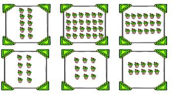 Multiplication Array Cupcakes