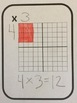 Multiplication Practice Cards ✖ Multiplication Facts Practice