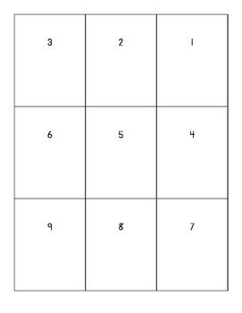 Multiplication Array Flashcards