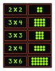 Multiplication Array Matching Cards