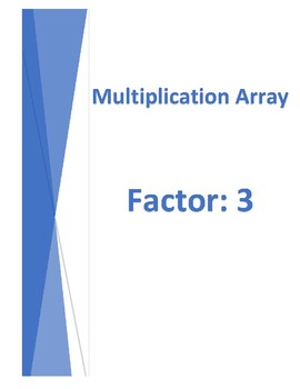 Multiplication Array Model by Factor