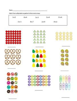 Multiplication Array Models