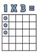Multiplication Array Posters (up to 5x5)