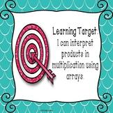 Multiplication Array PowerPoint Presentation 3.OA.1
