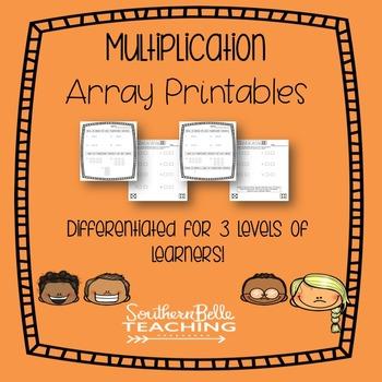 Multiplication Array Printables